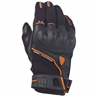 Motorcycle Gloves Ixon RS GRIP HP Black Orange