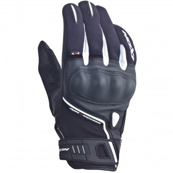 Motorcycle Gloves Ixon RS Grip Lady HP Black White
