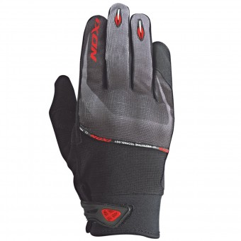 Motorcycle Gloves Ixon RS Lift HP Black Grey Red