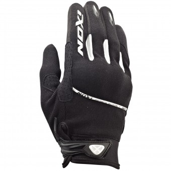Motorcycle Gloves Ixon RS Lift HP Kid Black White