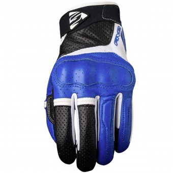 Motorcycle Gloves Five RS2 Blue
