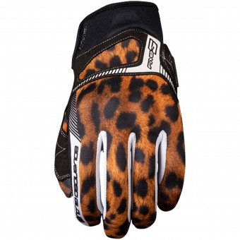 Motorcycle Gloves Five RS3 Woman Leo