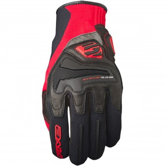 Motorcycle Gloves Five RS4 Black Red