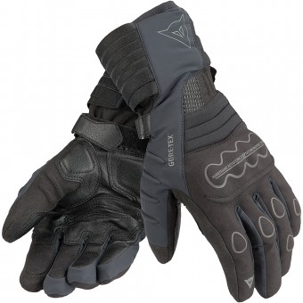 Motorcycle Gloves Dainese Scout Evo Gore-Tex Black