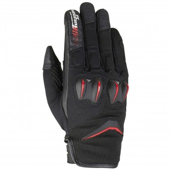 Motorcycle Gloves Furygan Sisko Black Red