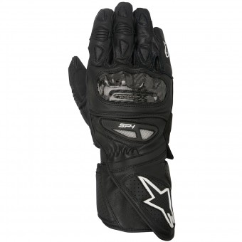 Motorcycle Gloves Alpinestars SP-1 Black