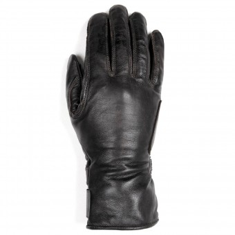 Motorcycle Gloves Helstons Stella Woman Leather Black