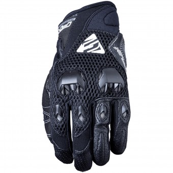 Motorcycle Gloves Five Stunt Evo Airflow Black