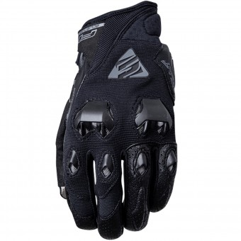 Motorcycle Gloves Five Stunt Evo Black