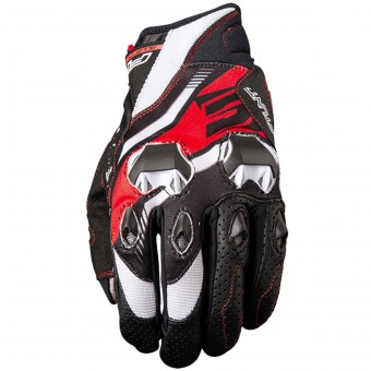 Motorcycle Gloves Five Stunt Evo Replica Icon Red