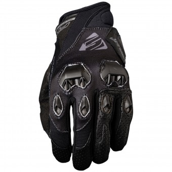 Motorcycle Gloves Five Stunt Evo Woman Black