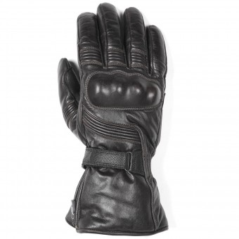 Motorcycle Gloves Helstons Titan Leather Black