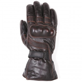 Motorcycle Gloves Helstons Titan Leather Brown