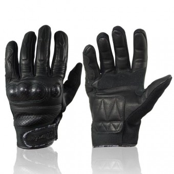 Motorcycle Gloves Darts Tomcat Black