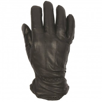 Motorcycle Gloves Helstons Walter Leather Black