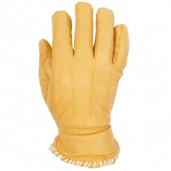 Motorcycle Gloves Helstons Walter Leather Gold