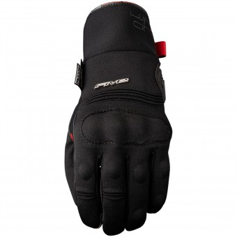 Motorcycle Gloves Five WFX City Short WP Black