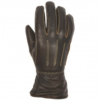Motorcycle Gloves Helstons Wynona Woman Leather Brown