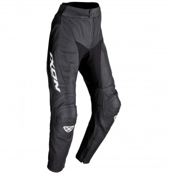 Motorcycle Trousers Ixon Fueller Black White Pant