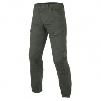 Motorcycle Trousers Dainese Kargo Army Green