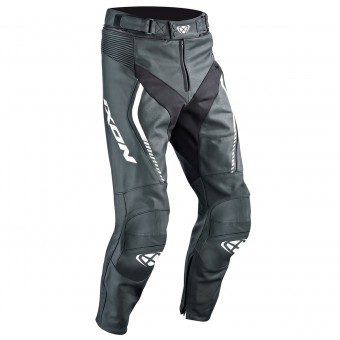 Motorcycle Trousers Ixon Fighter Pant Black White