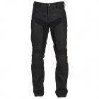 Motorcycle Trousers Furygan Jean DH Black Oil