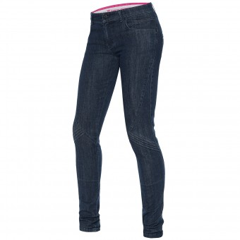 Motorcycle Trousers Dainese Jessville Lady Denim Stone Washed