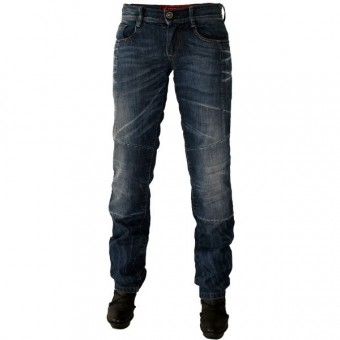 Motorcycle Trousers Esquad Louisy Road Blue