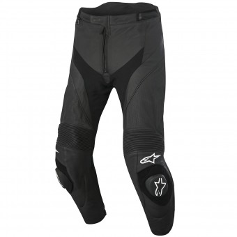 Motorcycle Trousers Alpinestars Missile Airflow Leather Black