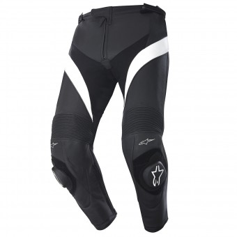 Motorcycle Trousers Alpinestars Missile Black White Grey