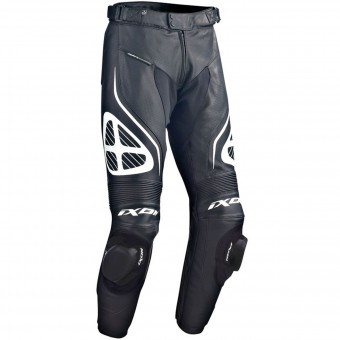Motorcycle Trousers Ixon Orcus Pant Black White