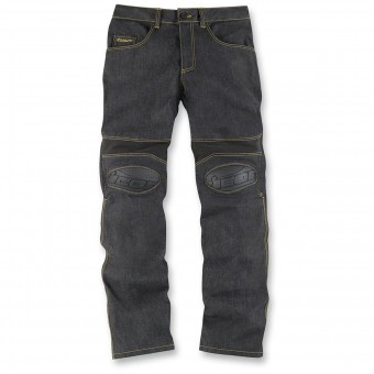 Motorcycle Trousers ICON Overlord Riding Pant Dark Indigo