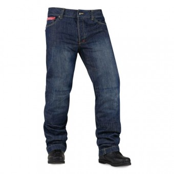 Motorcycle Trousers ICON Strongarm 2 Blue