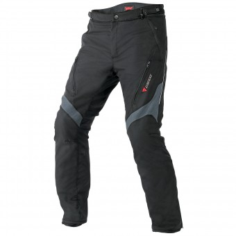 Motorcycle Trousers Dainese Tempest D-Dry Black Dark Grey Pant
