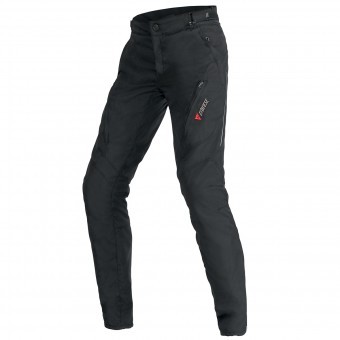 Motorcycle Trousers Dainese Tempest Lady D-Dry Black Pant