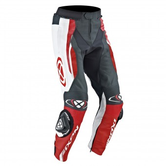 Motorcycle Trousers Ixon Vortex Pant Black White Red