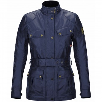 Motorcycle Coats Belstaff Classic Trophy Lady Navy Blue