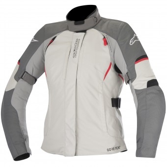 Motorcycle Coats Alpinestars Stella Ares Gore-Tex Light Grey