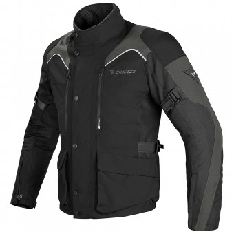 Motorcycle Coats Dainese Tempest D-Dry Black Dark Grey
