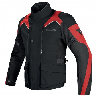 Motorcycle Coats Dainese Tempest D-Dry Black Red
