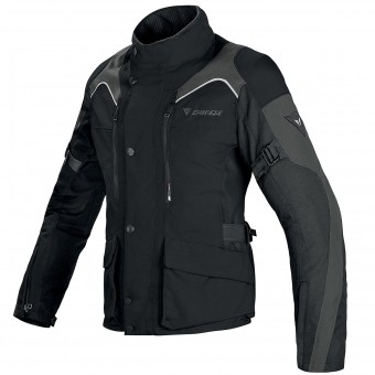 Motorcycle Coats Dainese Tempest Lady D-Dry Black Dark Grey