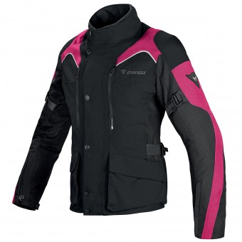 Motorcycle Coats Dainese Tempest Lady D-Dry Black Fuschia
