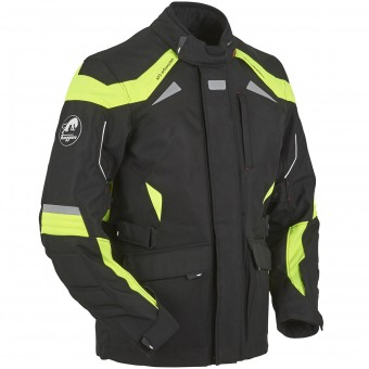 Motorcycle Jackets Furygan WR-16 HV Black Yellow Fluo