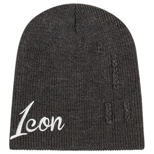 Motorcycle Beanies ICON 1000 Feedback Charcoal