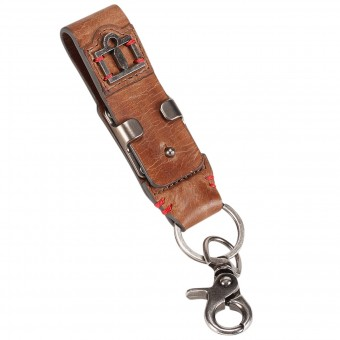 Novelty Items ICON 1000 Leather Belt Loop Keychain