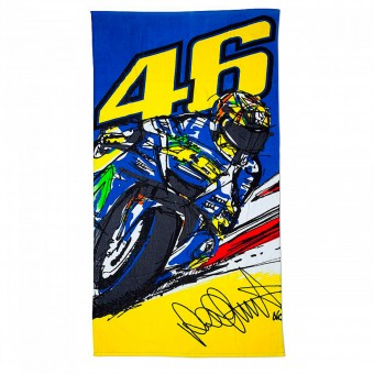 Novelty Items VR 46 Beach Towel 03 Multicolor