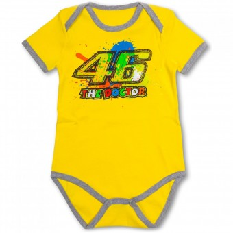 Novelty Items VR 46 Baby Body Yellow VR46