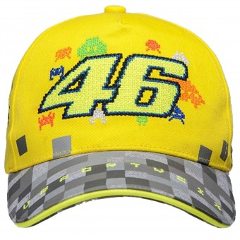 Novelty Items VR 46 Cap Kid Yellow Grey VR46