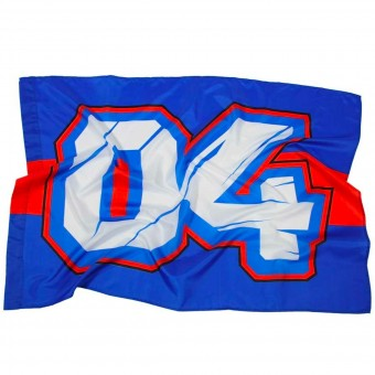 Novelty Items Andrea Dovizioso Flag Blue Dovizioso 04
