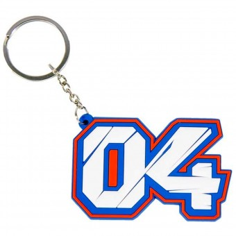 Novelty Items Andrea Dovizioso Keyring Blue Dovizioso 04